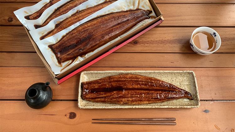 蒲燒白鰻大單片9折禮盒組85折