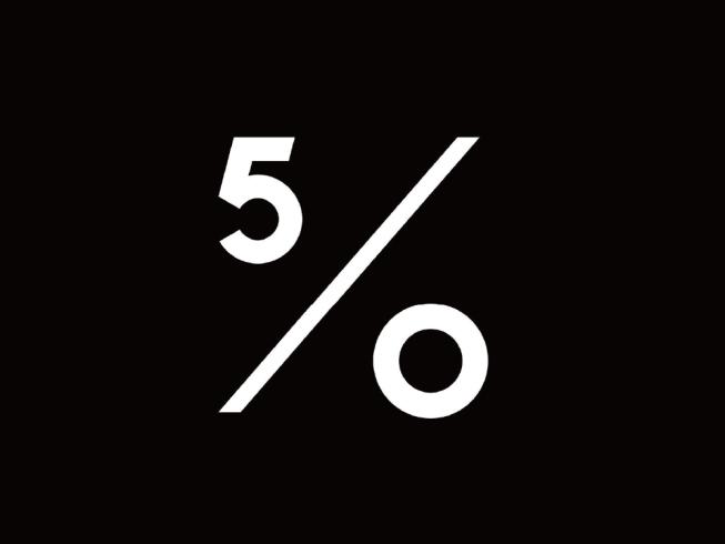 50 Percent(男裝)