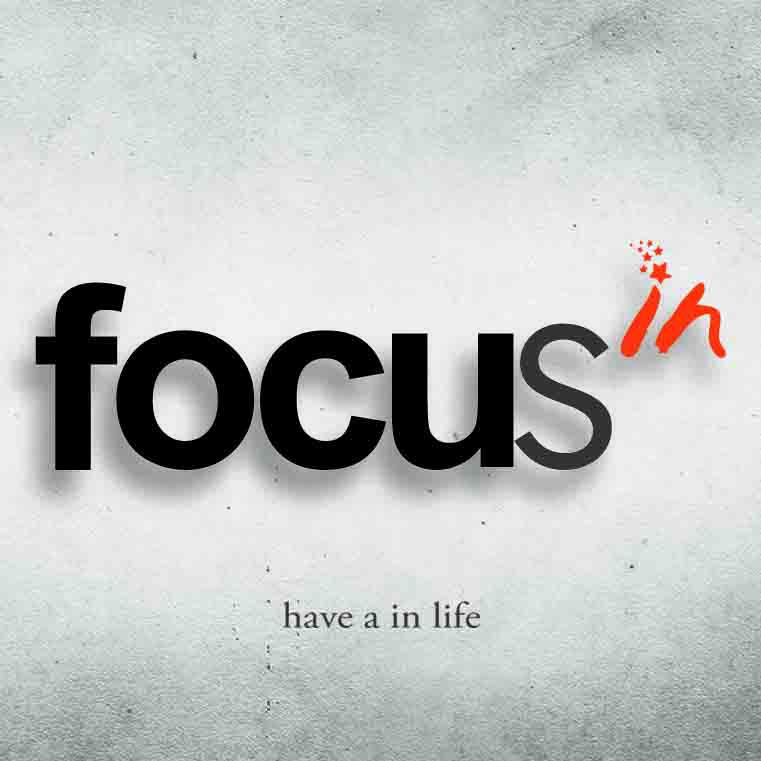 Focus in cafe