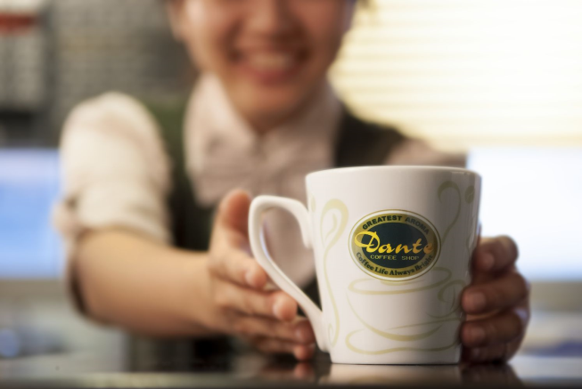 丹堤咖啡-龍山寺直營門市